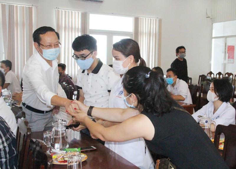 38 'chiến binh áo trắng' Phú Thọ đến vùng dịch Quảng Nam - ảnh 8