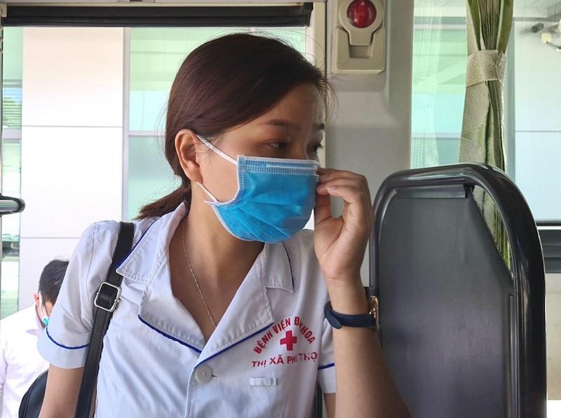38 'chiến binh áo trắng' Phú Thọ đến vùng dịch Quảng Nam - ảnh 3