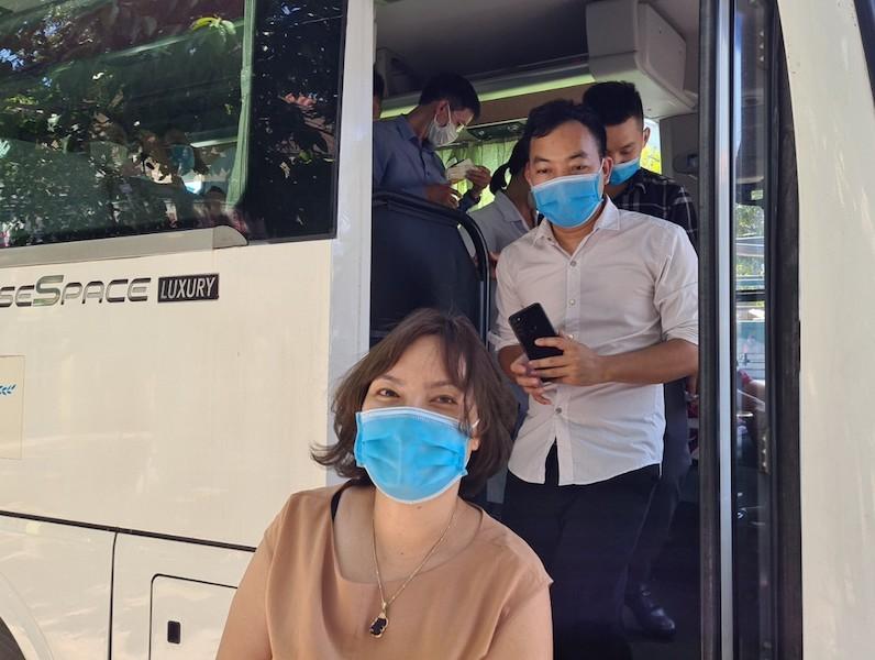 38 'chiến binh áo trắng' Phú Thọ đến vùng dịch Quảng Nam - ảnh 5
