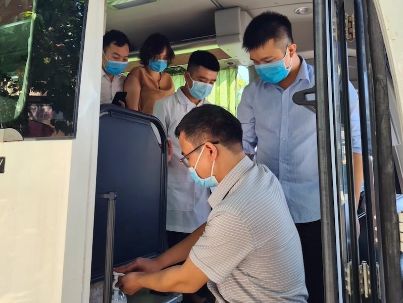 38 'chiến binh áo trắng' Phú Thọ đến vùng dịch Quảng Nam - ảnh 6