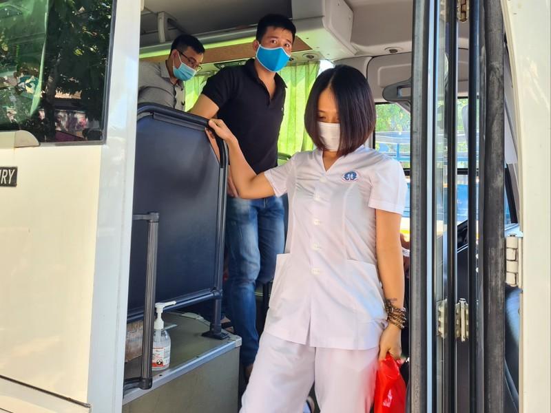 38 'chiến binh áo trắng' Phú Thọ đến vùng dịch Quảng Nam - ảnh 7
