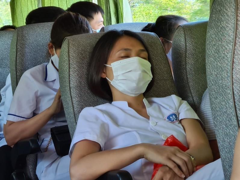 38 'chiến binh áo trắng' Phú Thọ đến vùng dịch Quảng Nam - ảnh 4