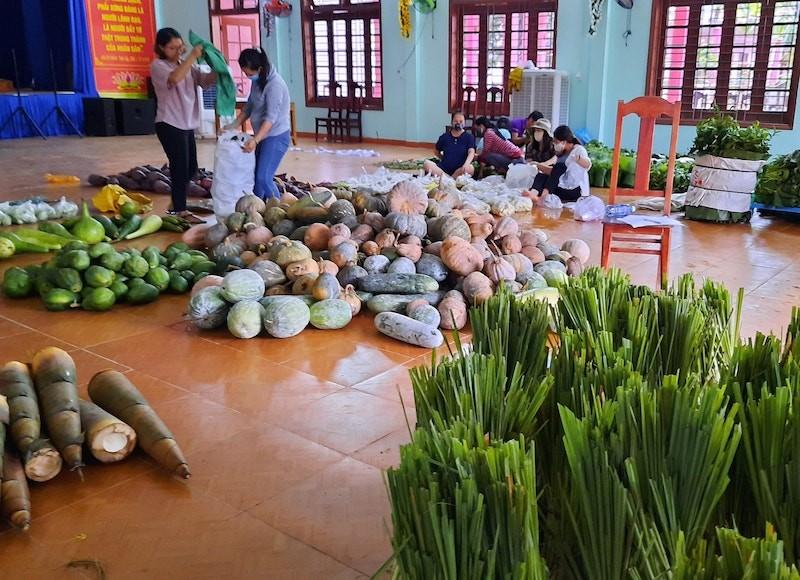 Người dân Trà My hái gần 10 tấn rau rừng gửi vùng dịch Đà Nẵng - ảnh 3