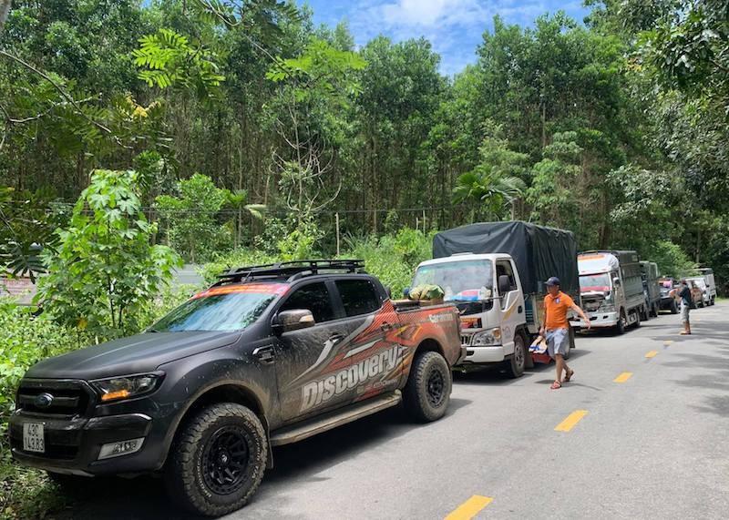 Người dân Trà My hái gần 10 tấn rau rừng gửi vùng dịch Đà Nẵng - ảnh 13
