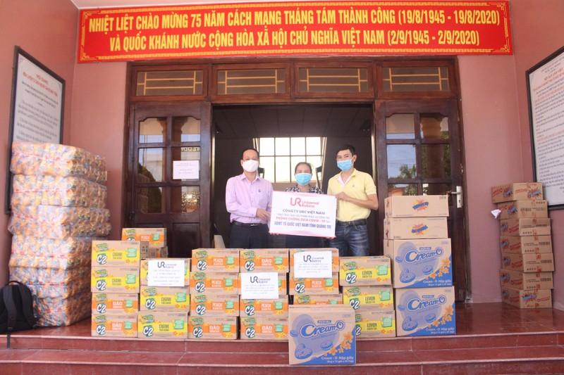 Công ty URC hỗ trợ Miền Trung chống dịch - ảnh 1