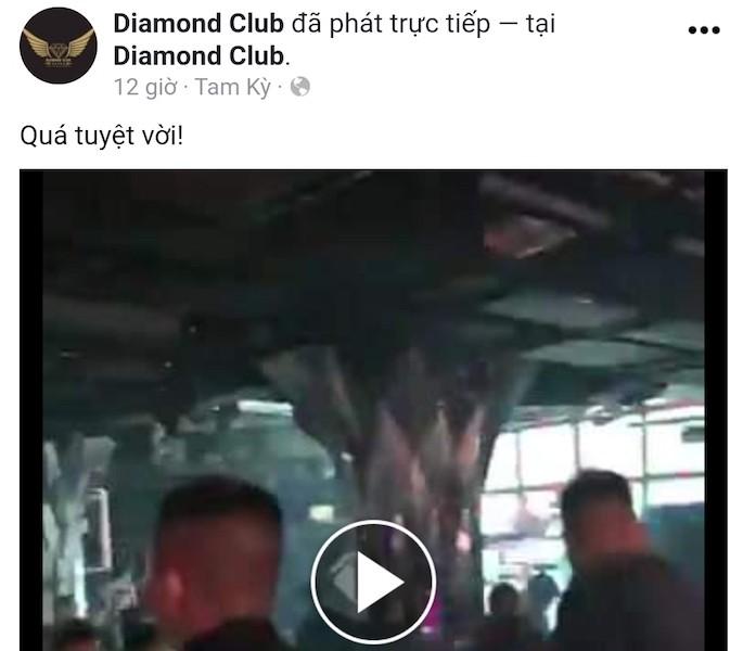 Quán bar ở Quảng Nam hoạt động bất chấp lệnh cấm - ảnh 1
