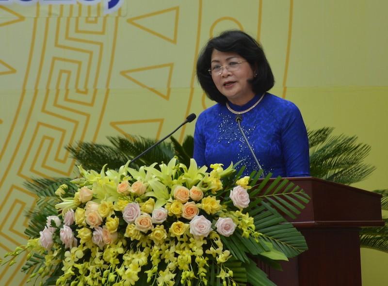 Phó Chủ tịch nước dự Đại hội thi đua yêu nước Quảng Nam - ảnh 1