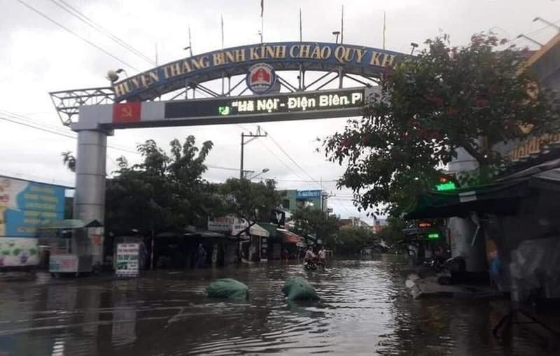 Quảng Nam: Thuỷ điện xả nước, nhiều nơi ngập sâu - ảnh 1