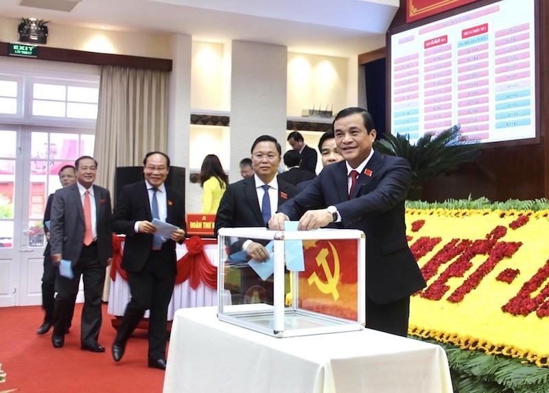 Ông Phan Việt Cường tái đắc cử Bí thư Tỉnh ủy Quảng Nam - ảnh 1