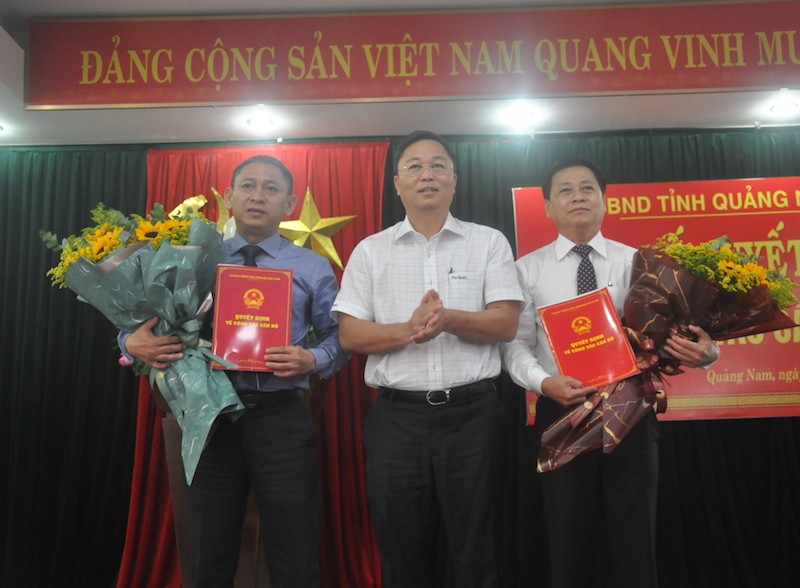 Quảng Nam: Điều động, bổ nhiệm 3 Giám đốc Sở - ảnh 1