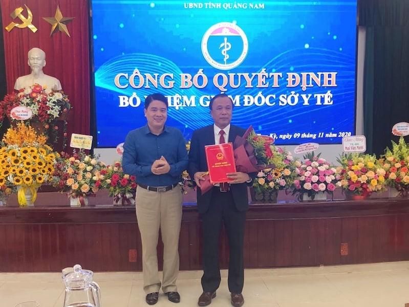 Quảng Nam: Điều động, bổ nhiệm 3 Giám đốc Sở - ảnh 2