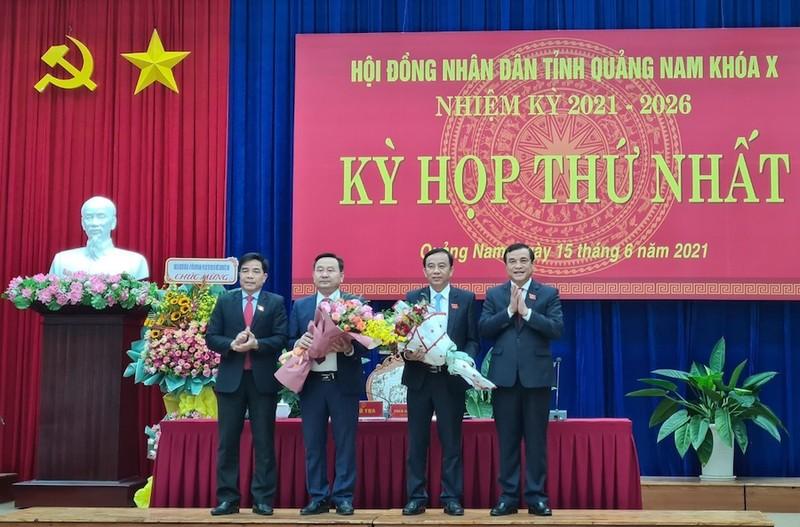 Quảng Nam bầu Chủ tịch, các Phó Chủ tịch HĐND tỉnh khoá X - ảnh 2