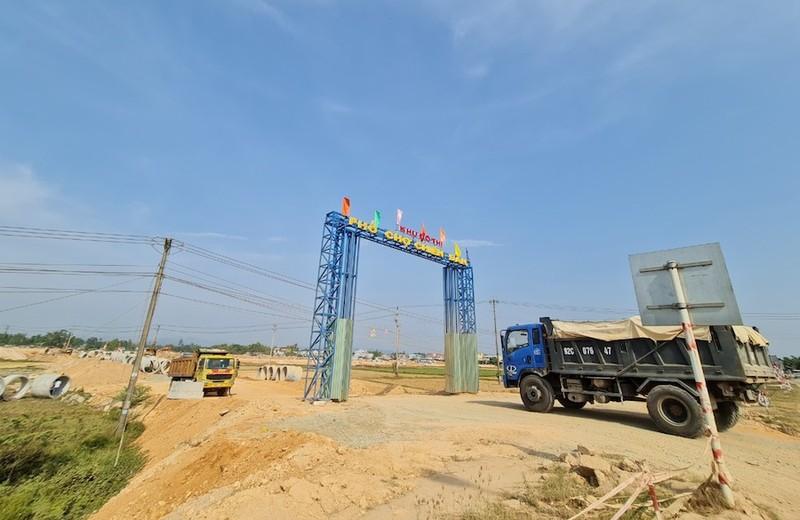 Quảng Nam kiểm tra, rà soát dự án khu phố chợ Chiên Đàn - ảnh 1