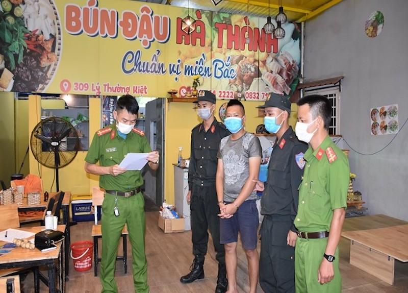 Bắt nhóm người đến Quảng Nam hoạt động cho vay lãi nặng - ảnh 1