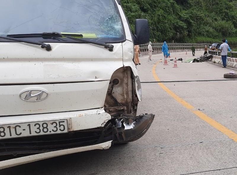 2 mẹ con tử vong do tai nạn trên đường từ miền Nam về quê - ảnh 2