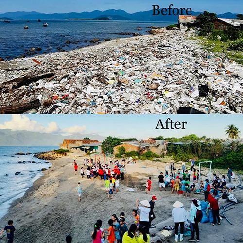 Thú vị trào lưu 'thách thức dọn rác' gây bão mạng thế giới - ảnh 2