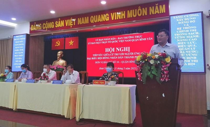 Ứng cử viên Nguyễn Văn Vũ: Nỗ lực cải cách thủ tục hành chính - ảnh 1