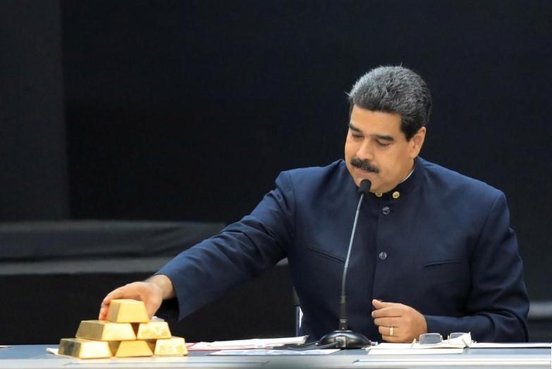 Venezuela tính bán vàng cho UAE - ảnh 1