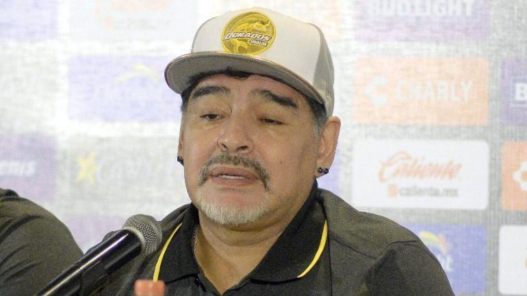 Maradona bị phạt vì 'dành chiến thắng' cho ông Maduro - ảnh 1