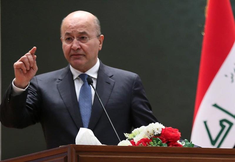 Tổng thống Iraq: Sẽ không để Mỹ sử dụng lãnh thổ tấn công Iran - ảnh 1