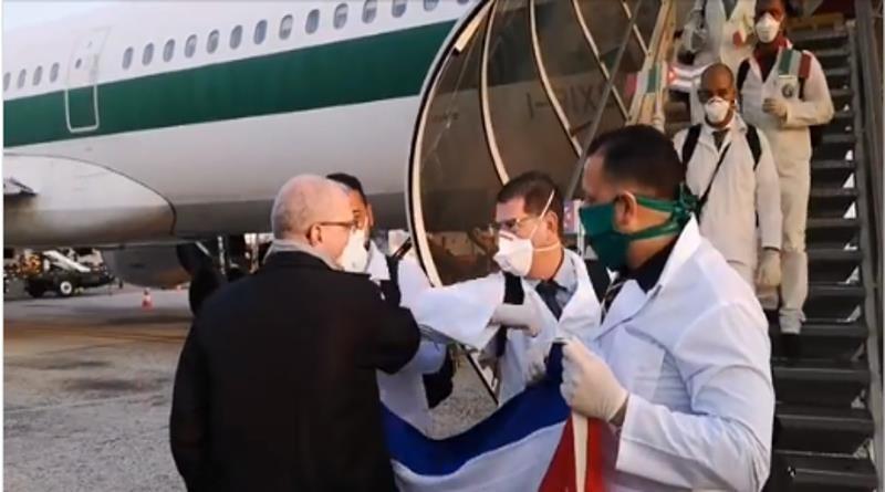 Cuba phản pháo chỉ trích của Mỹ về hỗ trợ y tế chống COVID-19 - ảnh 1
