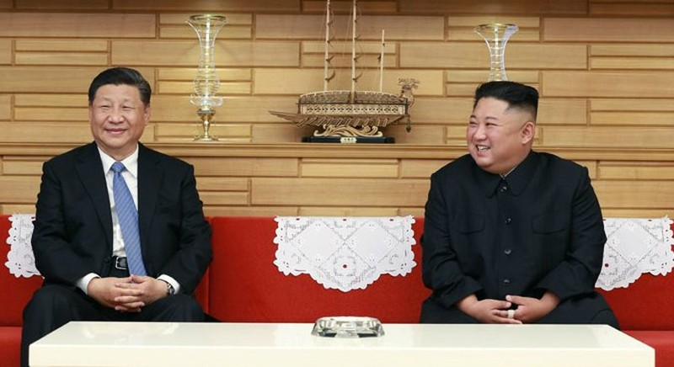 Ông Kim Jong-un gửi 'thông điệp lời nói' đến ông Tập Cận Bình - ảnh 1