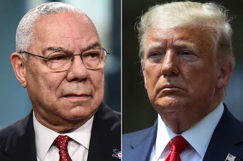 Ông Trump đáp trả chỉ trích của cựu ngoại trưởng da màu  - ảnh 1