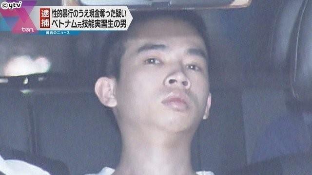 Nhật bắt 1 thực tập sinh Việt bị tình nghi cướp của, hiếp dâm  - ảnh 1