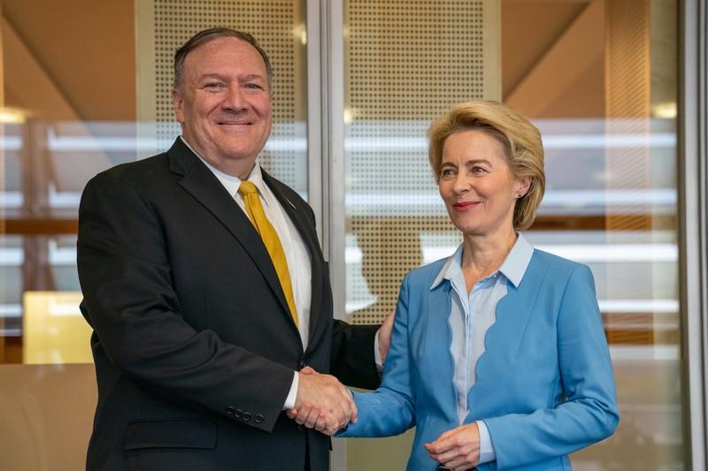 Ông Pompeo: Mỹ, EU nên cùng nhau đương đầu Trung Quốc - ảnh 1