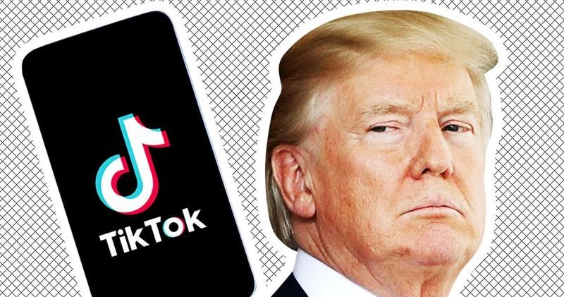 Ông Trump xác nhận cân nhắc cấm TikTok để trả đũa Trung Quốc  - ảnh 1