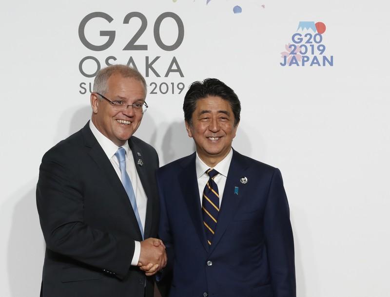 Nhật, Úc chia sẻ lo ngại tình hình Biển Đông - ảnh 1