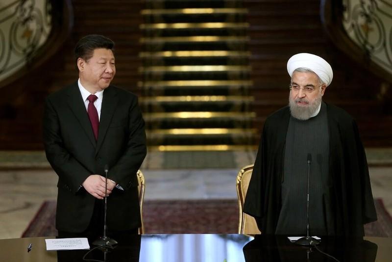 Báo Mỹ: Iran-Trung Quốc âm thầm 'bắt tay' đối phó Washington - ảnh 1