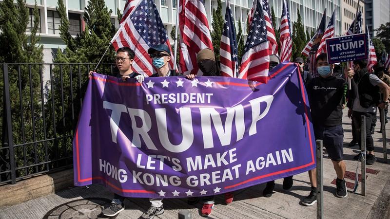 Người Hong Kong, Đài Loan ưa ai, ông Trump hay ông Biden?   - ảnh 2