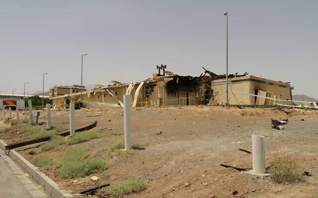 Iran nhận diện nghi phạm vụ nổ bí ẩn ở cơ sở hạt nhân Natanz - ảnh 2