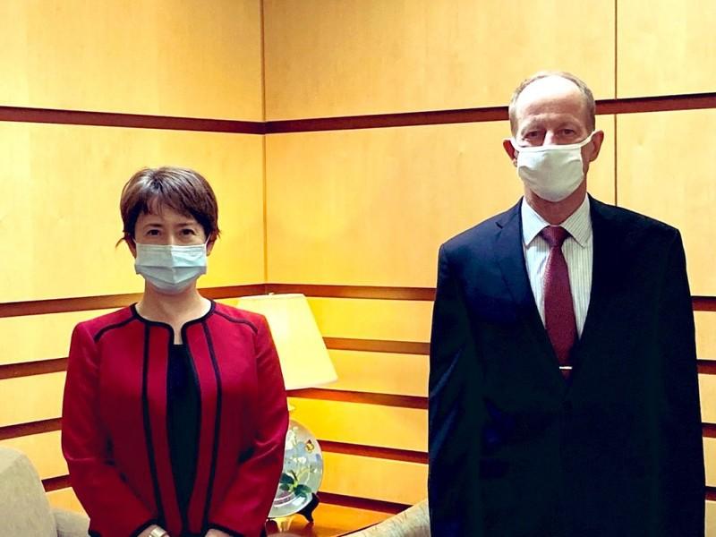 Quan chức ngoại giao Mỹ 'phá lệ' tiếp đại diện Đài Loan - ảnh 1