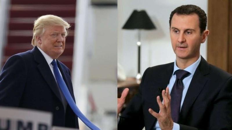 Ông Trump viết thư riêng cho ông al-Assad, nhờ tìm người - ảnh 1
