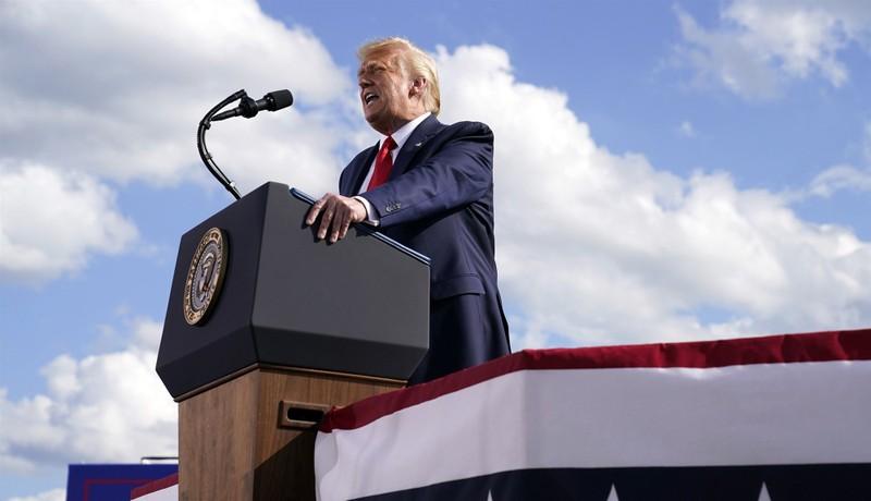 Ông Trump tuyên bố sẽ 'nói chuyện với Nga' về Belarus - ảnh 1