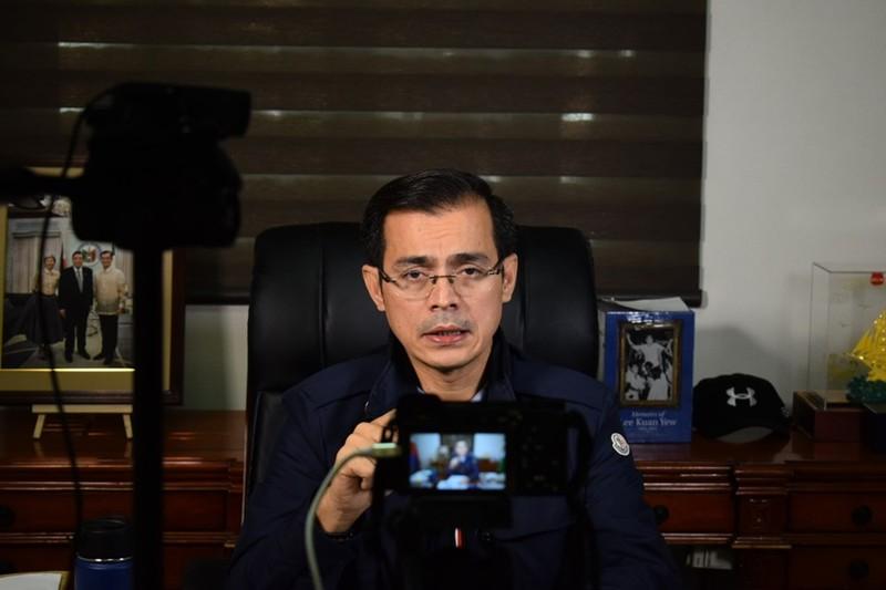 Thị trưởng Manila nổi đóa với nhãn hàng 'tỉnh của Trung Quốc'  - ảnh 1