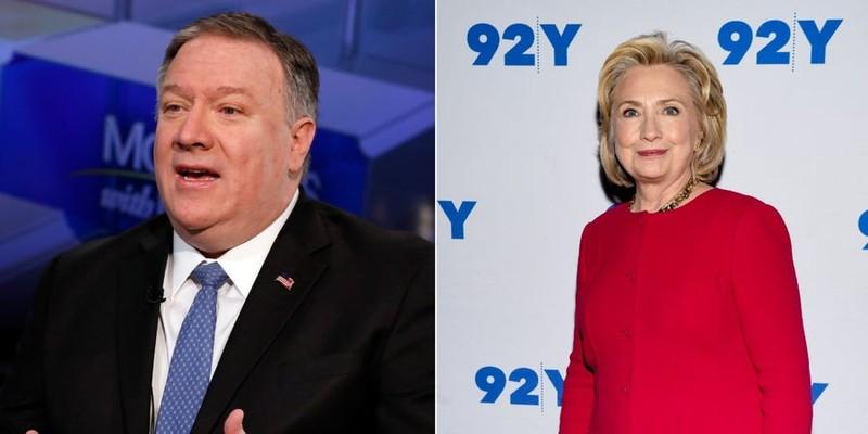 Ông Pompeo: Sẽ công bố email thời bà Clinton làm ngoại trưởng - ảnh 1