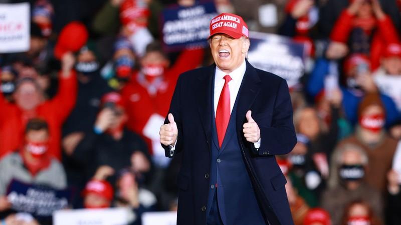 Ông Trump thừa nhận đảng Cộng hòa 'rất khó' giữ Thượng viện - ảnh 1