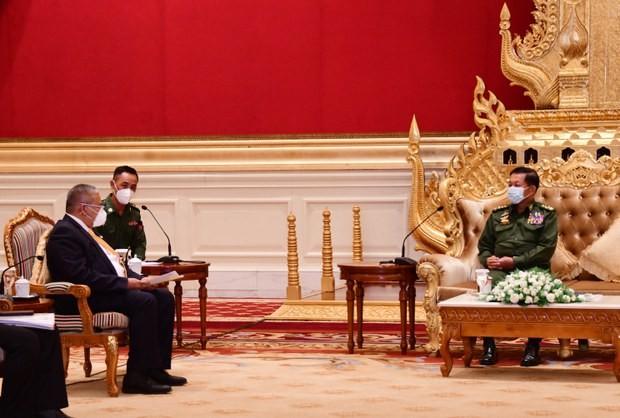Malaysia nói sẽ gặp 'chính phủ bóng tối' Myanmar nếu Naypyidaw không hợp tác - ảnh 1