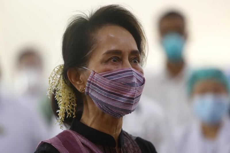 Bà Aung San Suu Kyi không nhận tội vi phạm quy định phòng chống COVID-19 - ảnh 1