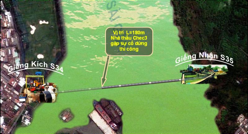 Nhớ vụ cứu đường cống khổng lồ dưới đáy sông Sài Gòn - ảnh 1