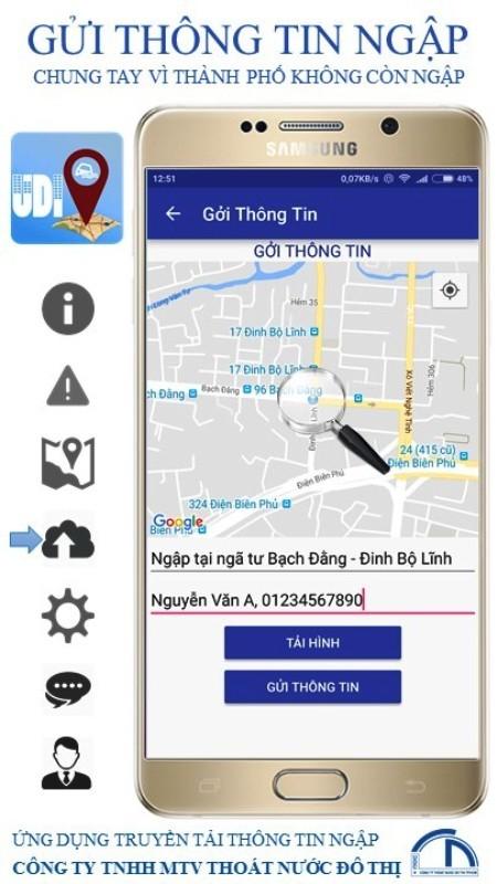 Người Sài Gòn dùng điện thoại để né điểm ngập - ảnh 4