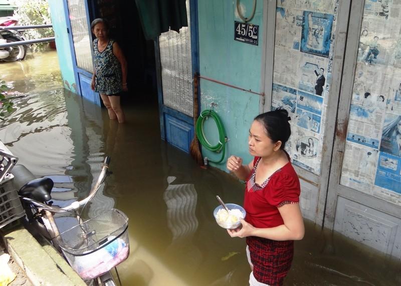 Cảnh ngập ở Sài Gòn chẳng khác chốn thôn quê - ảnh 3