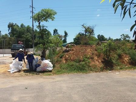 Phát hiện thêm 10 tấn chất thải của Formosa trong khu dân cư - ảnh 2