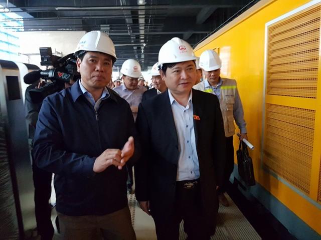 Metro đầu tiên của VN sắp được bàn giao cho TP Hà Nội - ảnh 1
