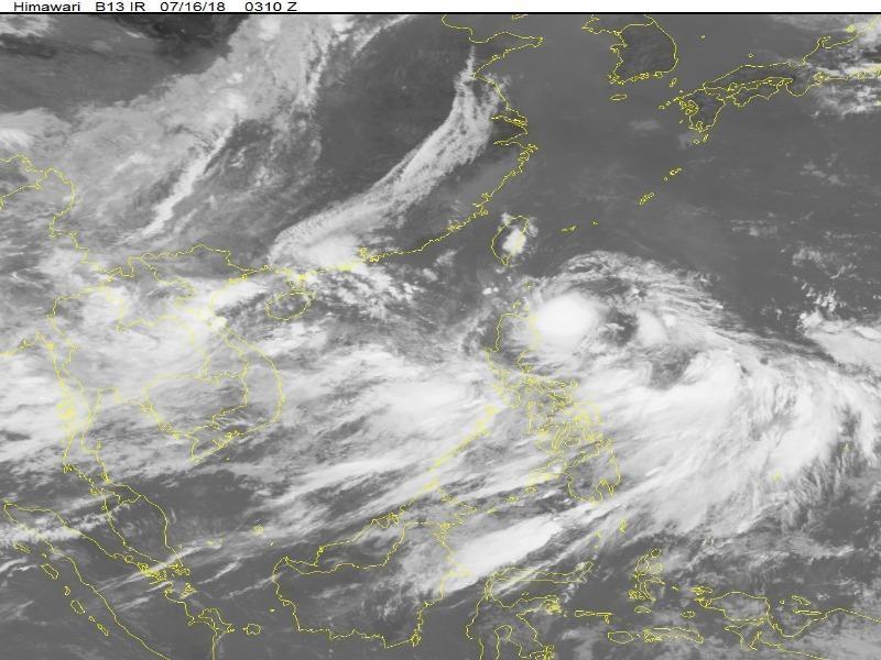 Vùng áp thấp mới có thể thành bão khi vào biển Đông - ảnh 1