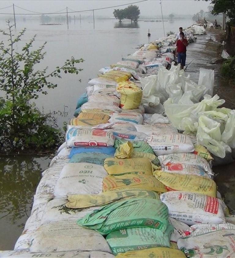2.700 nhà dân Hà Nội vẫn ngập chìm trong lũ - ảnh 3