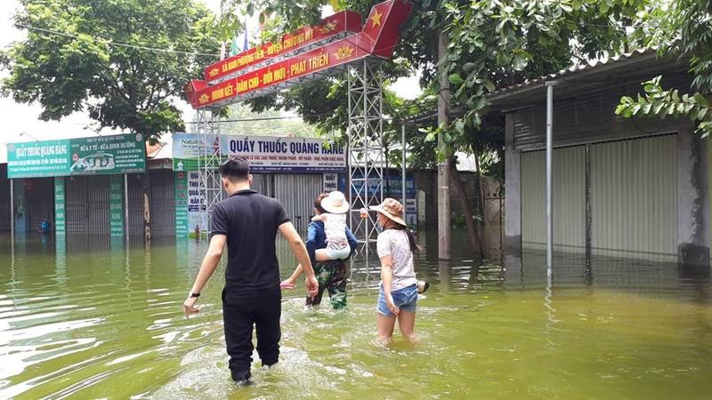 2.700 nhà dân Hà Nội vẫn ngập chìm trong lũ - ảnh 6